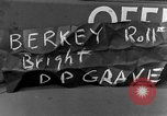 Image of completes graves Germany, 1945, second 4 stock footage video 65675071657