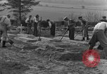 Image of completes graves Germany, 1945, second 10 stock footage video 65675071657