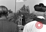Image of burial service Germany, 1945, second 8 stock footage video 65675071659