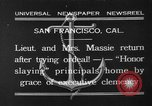 Image of Thalia Massie San Francisco California USA, 1932, second 1 stock footage video 65675071661