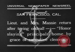 Image of Thalia Massie San Francisco California USA, 1932, second 4 stock footage video 65675071661