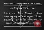 Image of Thalia Massie San Francisco California USA, 1932, second 9 stock footage video 65675071661
