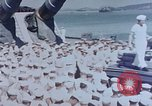 Image of Change of Command ceremony aboard battleship Pacific Theater, 1944, second 3 stock footage video 65675071668