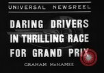 Image of Grand Prix motor racing Monte Carlo Monaco, 1936, second 5 stock footage video 65675071675