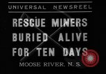 Image of Moose River Gold Mines Nova Scotia, 1936, second 5 stock footage video 65675071677