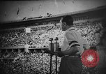 Image of Relay race medal ceremony 1936 Olympics Berlin Germany, 1936, second 3 stock footage video 65675071688