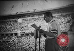 Image of Relay race medal ceremony 1936 Olympics Berlin Germany, 1936, second 9 stock footage video 65675071688