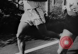 Image of 1936 Olympic marathon race winners Berlin Germany, 1936, second 4 stock footage video 65675071690