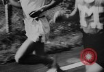 Image of 1936 Olympic marathon race winners Berlin Germany, 1936, second 5 stock footage video 65675071690