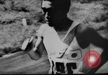 Image of 1936 Olympic marathon race winners Berlin Germany, 1936, second 11 stock footage video 65675071690