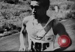 Image of 1936 Olympic marathon race winners Berlin Germany, 1936, second 12 stock footage video 65675071690