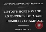 Image of America's Cup Newport Rhode Island USA, 1930, second 2 stock footage video 65675071700
