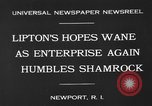 Image of America's Cup Newport Rhode Island USA, 1930, second 9 stock footage video 65675071700