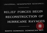 Image of Hurricane ravages Santo Domingo Dominican Republic, 1930, second 1 stock footage video 65675071702