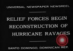 Image of Hurricane ravages Santo Domingo Dominican Republic, 1930, second 3 stock footage video 65675071702