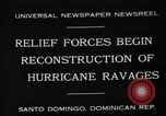 Image of Hurricane ravages Santo Domingo Dominican Republic, 1930, second 5 stock footage video 65675071702