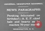 Image of John Joseph Pershing Washington DC USA, 1930, second 12 stock footage video 65675071703