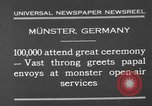 Image of Christian ceremony Munster Germany, 1930, second 3 stock footage video 65675071704