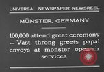 Image of Christian ceremony Munster Germany, 1930, second 8 stock footage video 65675071704