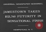 Image of horse racing Hempstead New York USA, 1930, second 2 stock footage video 65675071709