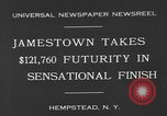 Image of horse racing Hempstead New York USA, 1930, second 4 stock footage video 65675071709
