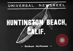 Image of twin sets Huntington Beach California USA, 1939, second 1 stock footage video 65675071713