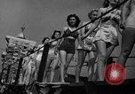 Image of beauty contest Venice Beach Los Angeles California USA, 1939, second 12 stock footage video 65675071714