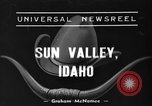 Image of rodeo Sun Valley Idaho USA, 1939, second 1 stock footage video 65675071717