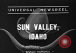 Image of rodeo Sun Valley Idaho USA, 1939, second 2 stock footage video 65675071717