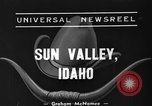 Image of rodeo Sun Valley Idaho USA, 1939, second 3 stock footage video 65675071717