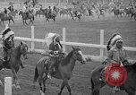 Image of rodeo Sun Valley Idaho USA, 1939, second 7 stock footage video 65675071717
