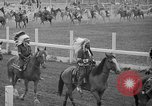 Image of rodeo Sun Valley Idaho USA, 1939, second 8 stock footage video 65675071717