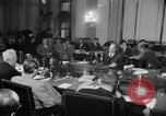 Image of Bennett E. Myers testifying before Senate Subcommittee Washington DC USA, 1947, second 1 stock footage video 65675071721