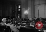 Image of Bennett E. Myers testifying before Senate Subcommittee Washington DC USA, 1947, second 3 stock footage video 65675071721
