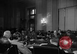 Image of Bennett E. Myers testifying before Senate Subcommittee Washington DC USA, 1947, second 6 stock footage video 65675071721