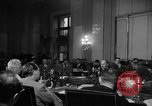 Image of Bennett E. Myers testifying before Senate Subcommittee Washington DC USA, 1947, second 8 stock footage video 65675071721