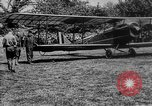Image of President Woodrow Wilson at the first regular air mail service ceremon United States USA, 1918, second 2 stock footage video 65675071735