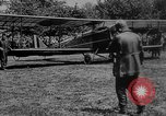 Image of President Woodrow Wilson at the first regular air mail service ceremon United States USA, 1918, second 4 stock footage video 65675071735
