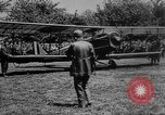 Image of President Woodrow Wilson at the first regular air mail service ceremon United States USA, 1918, second 5 stock footage video 65675071735