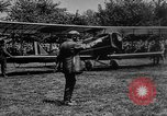 Image of President Woodrow Wilson at the first regular air mail service ceremon United States USA, 1918, second 7 stock footage video 65675071735