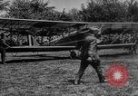 Image of President Woodrow Wilson at the first regular air mail service ceremon United States USA, 1918, second 8 stock footage video 65675071735