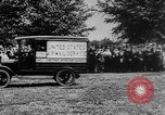 Image of President Woodrow Wilson at the first regular air mail service ceremon United States USA, 1918, second 10 stock footage video 65675071735