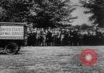 Image of President Woodrow Wilson at the first regular air mail service ceremon United States USA, 1918, second 11 stock footage video 65675071735