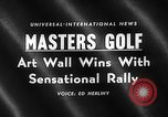 Image of Masters Golf Tournament Augusta Georgia USA, 1959, second 3 stock footage video 65675071753