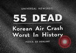 Image of Korean airplane crash Seoul South Korea, 1967, second 2 stock footage video 65675071754