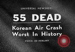 Image of Korean airplane crash Seoul South Korea, 1967, second 5 stock footage video 65675071754