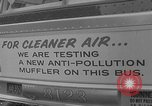 Image of anti-pollution mufflers New York United States USA, 1967, second 7 stock footage video 65675071756