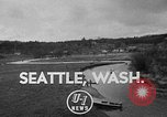 Image of Sammamish Slough Outboard Classic Seattle Washington USA, 1948, second 1 stock footage video 65675071774