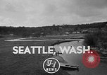 Image of Sammamish Slough Outboard Classic Seattle Washington USA, 1948, second 2 stock footage video 65675071774