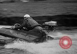 Image of Sammamish Slough Outboard Classic Seattle Washington USA, 1948, second 12 stock footage video 65675071774